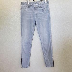 All saints Mast ankle zipper jeans